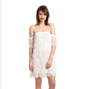 Trina Turk White Lace Alejandra Dress Size 4